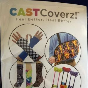 CAST COVERZ! A cover for your cast while healing!